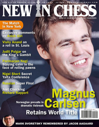 New In Chess Magazine 2016-8